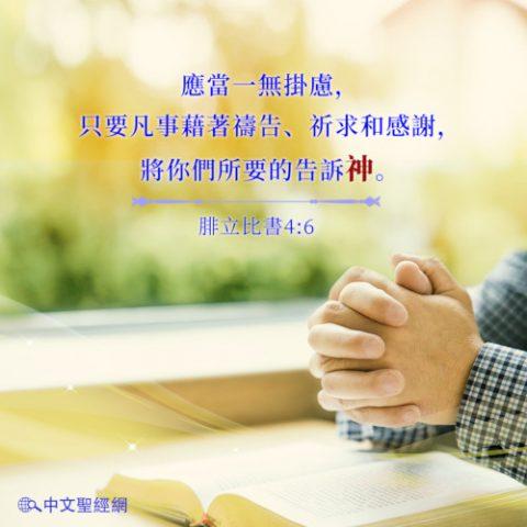 禱告,腓立比書,靈修經文