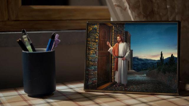 主耶穌叩門