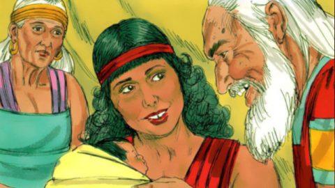 聖經人物-夏甲和以實瑪利