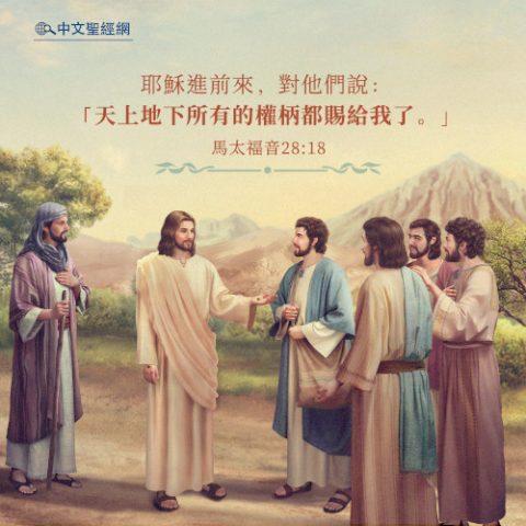馬太福音28:18-靈修經文