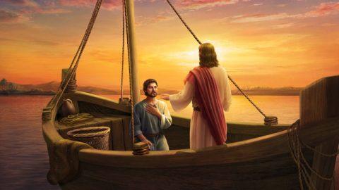 主耶穌呼召彼得