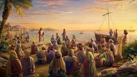 主耶穌作工,講道