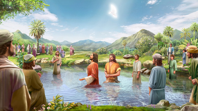讀經新亮光-主耶穌的身分與施洗約翰的身分有什麼不同