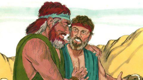 雅各的故事-雅各和以掃相見