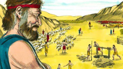 雅各的故事-雅各與拉班定工價