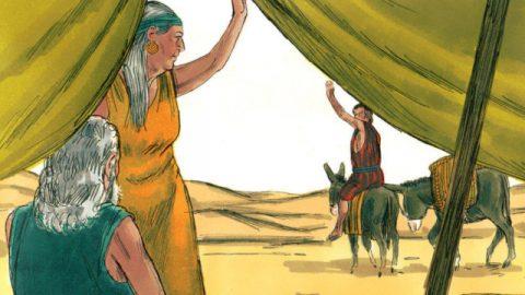 雅各的故事-雅各被迫離開以撒