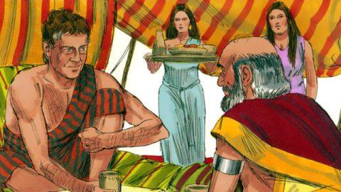 雅各的故事-雅各娶拉班兩個女兒為妻
