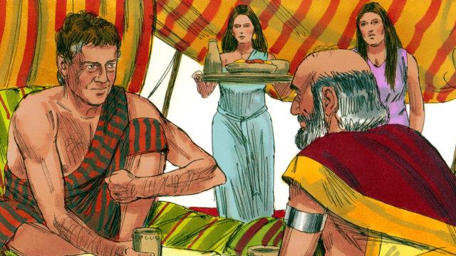 雅各娶拉班兩個女兒為妻