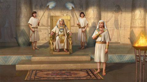 約瑟被立為宰相