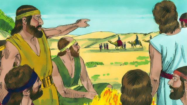 約瑟被賣到埃及