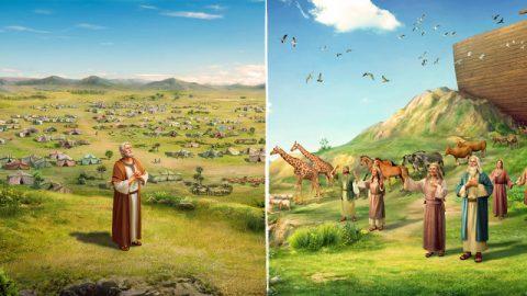 挪亞和亞伯拉罕為什麼能得到神的祝福