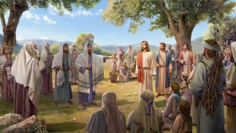 文士和法利賽人故意攔阻人們聽主耶穌講道