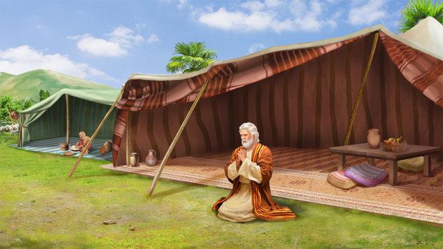 亞伯拉罕禱告