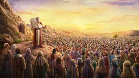 摩西頒布誡命