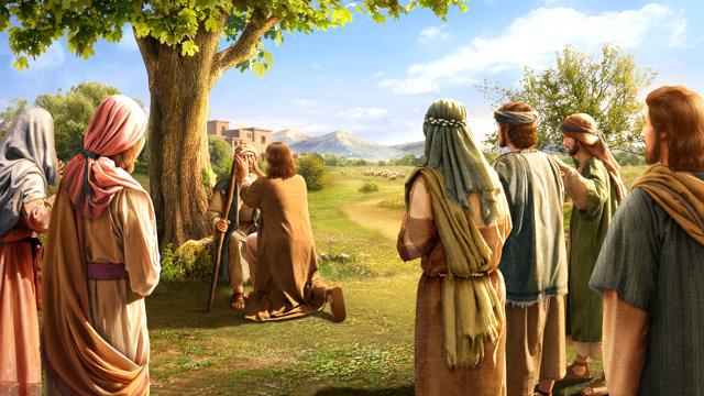 耶穌醫治瞎子