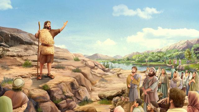施洗約翰為耶穌作見證
