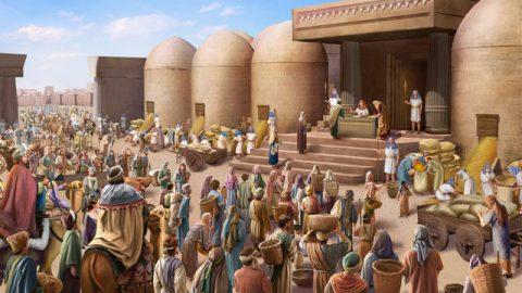 約瑟的故事-約瑟與哥哥們重逢