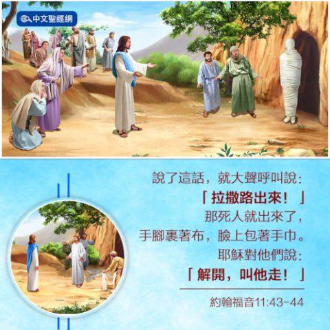 主耶穌行神蹟-拉撒路復活