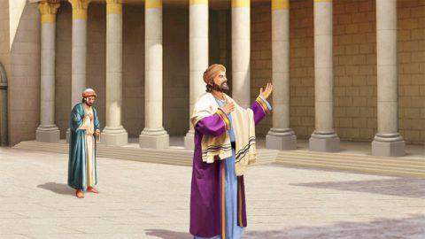 法利賽人和稅吏禱告的比喻