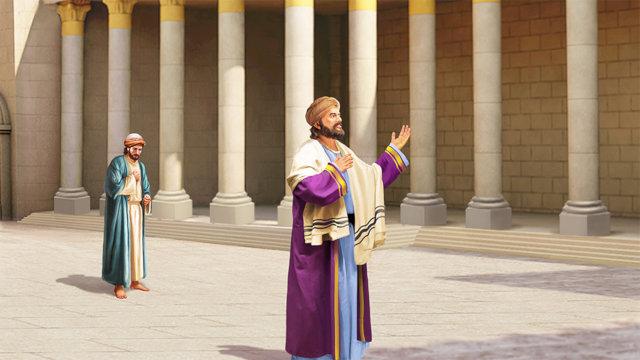 法利賽人和稅吏禱告