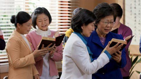 基督徒找到有聖靈作工的教會非常激動