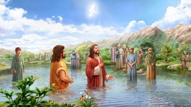 主耶穌受洗
