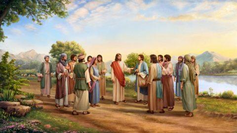 耶穌說:『你們說我是誰?』西門彼得回答說:『你是基督,是永生神的兒子。』耶穌對他說:『西門巴約拿,你是有福的!因為這不是屬血肉的指示你的,乃是我在天上的父指示的。』」(馬太福音16:15-17)