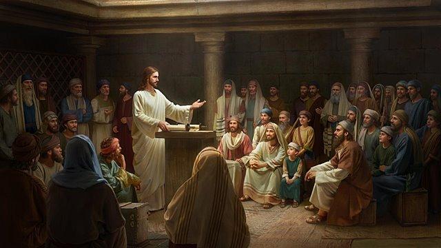 主耶稣讲道