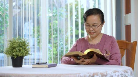 清晨閱讀神的話語