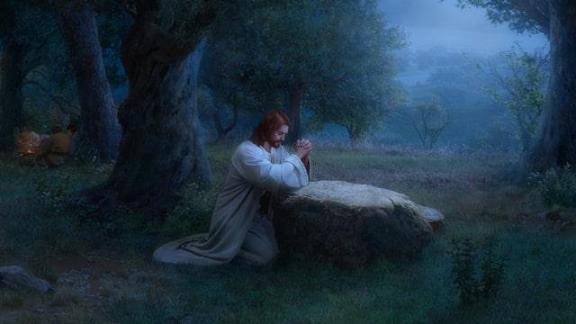主耶穌在客西馬尼園禱告