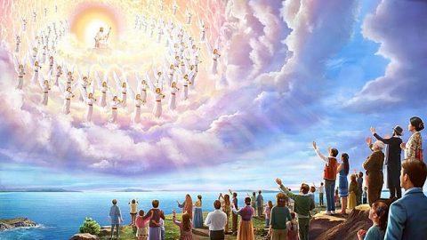 """聖經上記着説:「因為主必親自從天降臨,有呼叫的聲音和天使長的聲音,又有神的號吹響,那在基督裏死了的人必先復活。」<span class=""""from-inline"""">(帖前4:16)</span>你們見證主耶穌已經回來了,可我們到現在也没有聽見呼叫的聲音、天使長的聲音和神的號聲,也没看到那些死了的聖徒復活,這怎麽能證明主已經回來了呢?"""