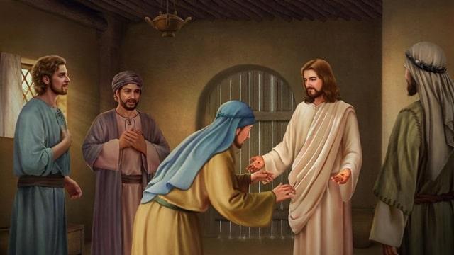 多瑪懷疑主耶穌復活摸主耶穌的釘痕