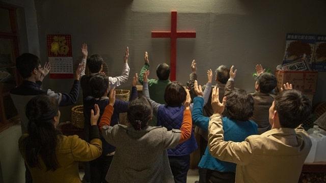 基督徒集體禱告