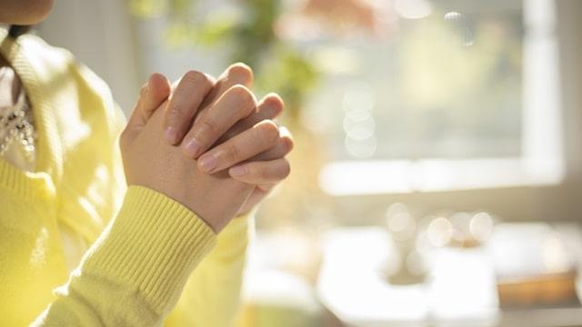 虔誠的禱告
