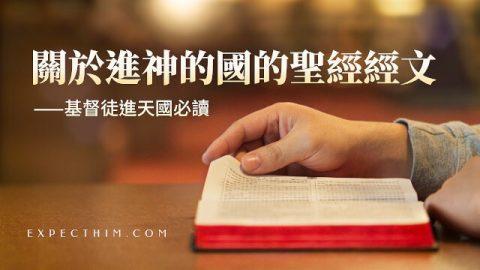 關於進神的國的聖經經文—基督徒進天國必讀